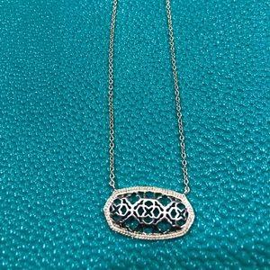 Kendra Scott filigree necklace